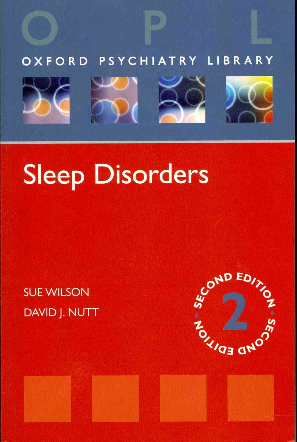 Sleep Disorders By Wilson, Sue/ Nutt, David